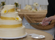 wedding video cake time Fort Wayne Courthouse