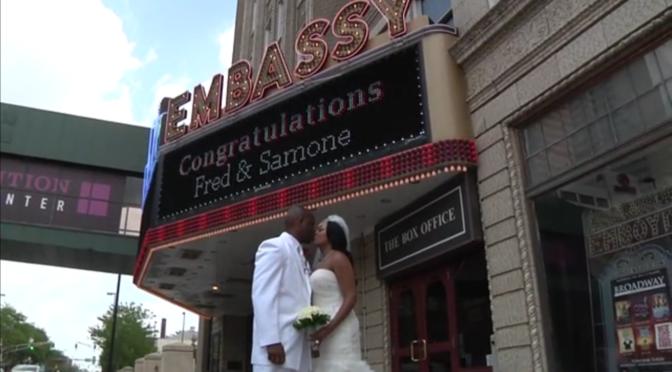 Congrats Samone & Fred @ Ft. Wayne Embassy
