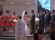 Short Take of Wedding Mass @ St. Charles with Holly & Brendan