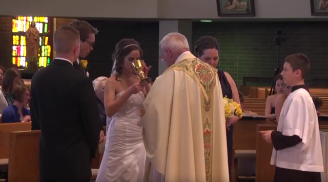 Unofficial Music Video of Abigail & David at St. Charles Church